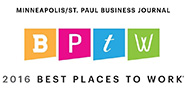 Minneapolis/St. Paul Business Journal Best Places to Work 2016