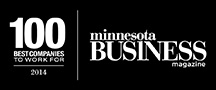 Minnesota Business magazine, 100 Best Companies to Work For, 2014