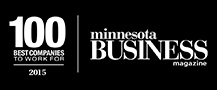 Minnesota Business magazine, 100 Best Companies to Work For, 2015