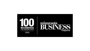 Minnesota Business magazine, 100 Best Companies to Work For logo