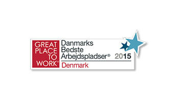 Great Place to Work, Denmark's Best Workplaces, Denmark logo