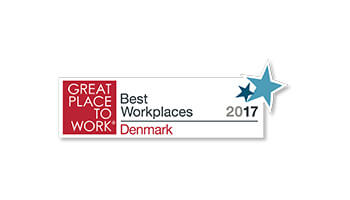 Great Place to Work, Denmark's Best Workplaces logo
