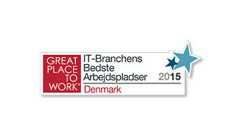 Great Place to Work, Best IT Workplaces, Denmark logo