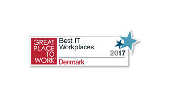 Great Place to Work, Best IT Workplaces logo