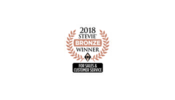 Bronze Stevie® Winner, Customer Service Department of the Year - Computer Software logo