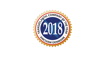 Transatlantic Company of the Year 2018 - AmCham Denmark Logo